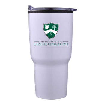 ACHE - 30 oz. Curved Body Tumbler W/ Lid and Custom Logo Thumbnail